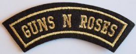 Guns N'Roses - Embroidered Shoulder Patch